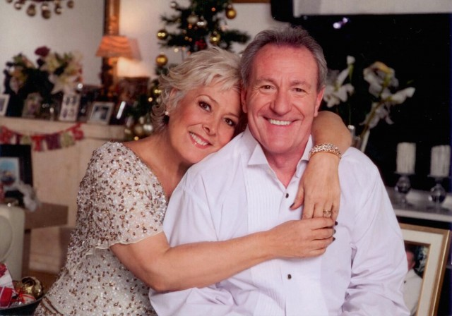 Lynda Bellingham and her husband Michael Pattermore